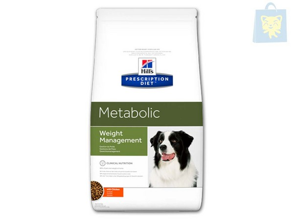 HILLS - PRESCRIPTION DIET - METABOLIC CANINE (220g, 1,5Kg, 4Kg y 12Kg)