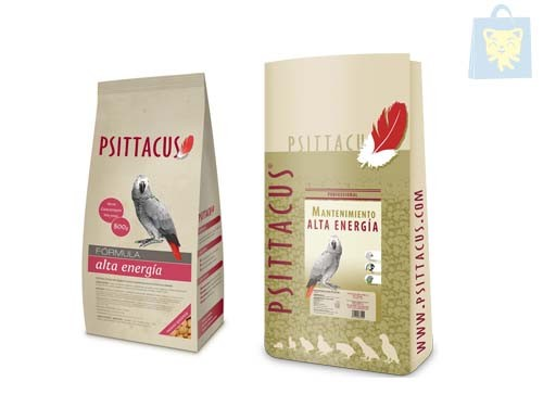 PSITTACUS - FOOD FOR PARROTS FORMULA MAINTENANCE HIGH ENERGY (0.8Kg and 12Kg)