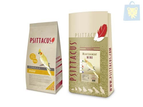 PSITTACUS - FOOD FOR PARROTS FORMULA MINI (450g and 12Kg)