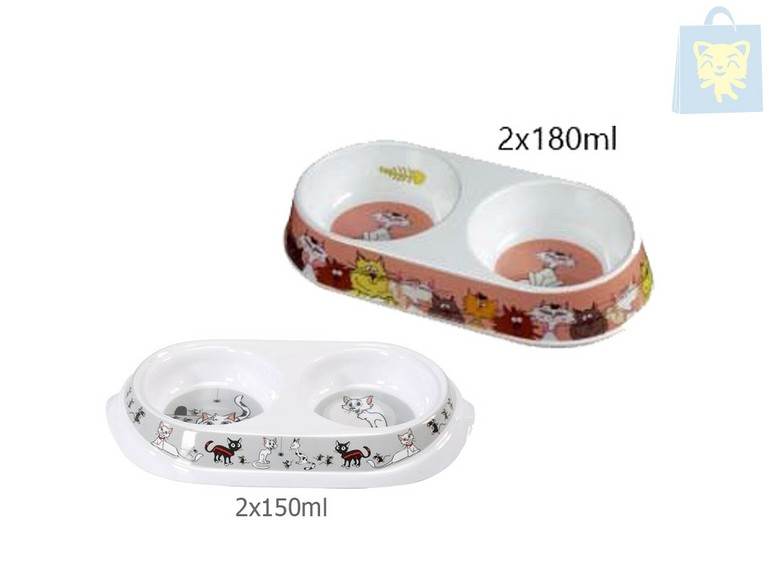 CAMON - DOUBLE FEET MELAMINE  (Several models) (Various measures)