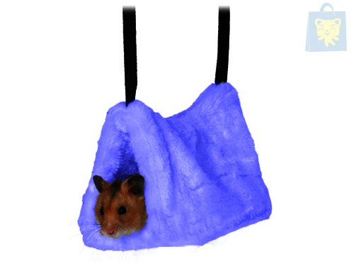 TRIXIE - HAMSTER BLUE SOFT CRIB (9x16x12cm)