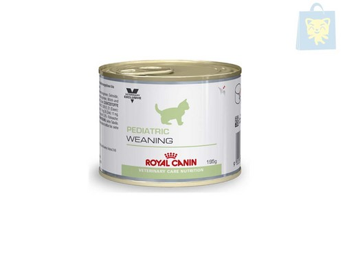 ROYAL CANIN-VETERINARY DIET - LATA GATO PEDIATRIC WEANING (12Ud y 24Ud - 195g)