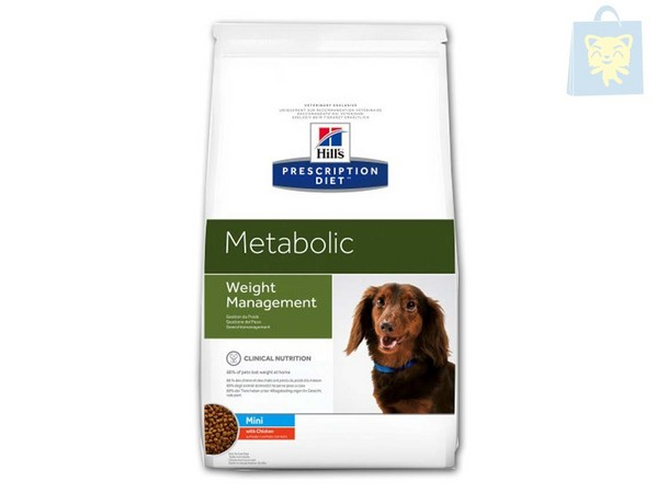 HILLS - PRESCRIPTION DIET - METABOLIC CANINE MINI (1,5Kg y 6Kg)