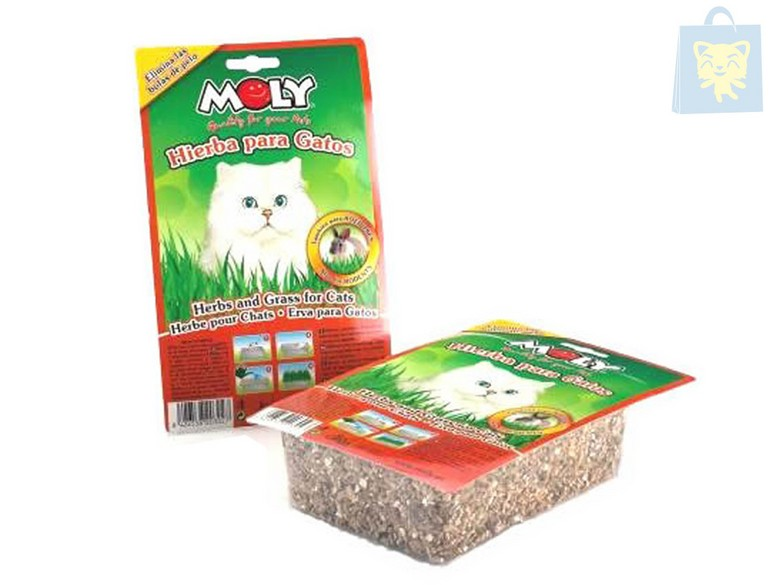 MOLY - GRASS FORD CATS AND RODENTS (150g)