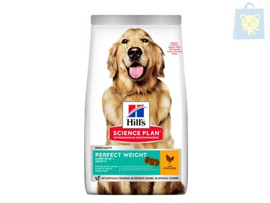 HILLS - SCIENCE PLAN - ADULTO PERFECT WEIGHT RAZA GRANDE (12Kg)
