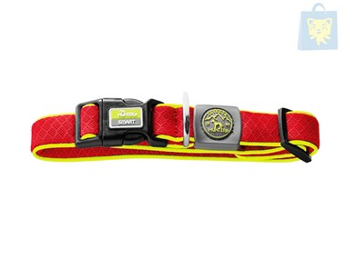 HUNTER  - COLLAR MAUI & MANOA ROJO (40-60 cm x 30 mm)