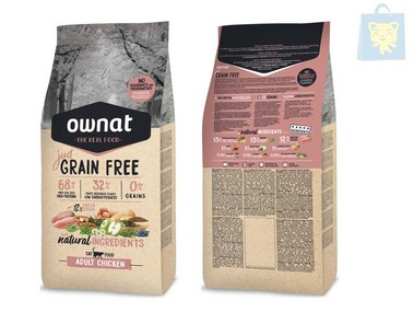 OWNAT - JUST ADULT CHICKEN (1Kg and 3Kg)