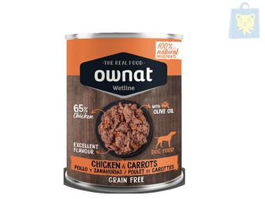 OWNAT - CHICKEN & CARROTS (400g)