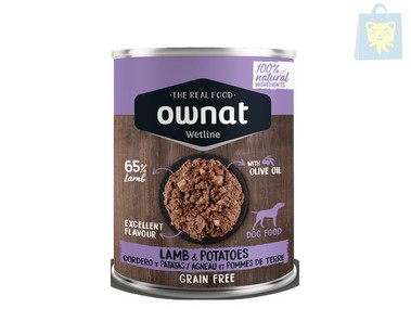OWNAT - LAMB & POTATOES (400g)
