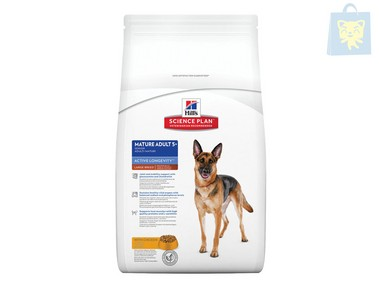 HILLS - SCIENCE PLAN - MATURE ADULT 5+ YOUTHFUL VITALITY LARGE BREED POLLO (14Kg)