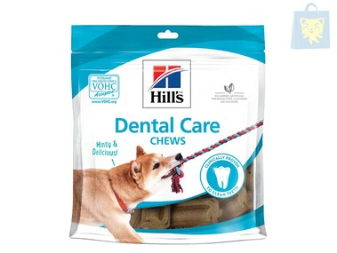 HILLS - PRESCRIPTION DIET - DENTAL CARE CHEW PREMIOS (170g)