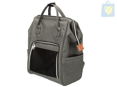 TRIXIE - AVA GRAY BACKPACK (32×42×22 cm)