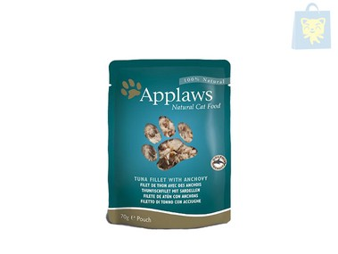 APPLAWS - TUNA FILET WITH ANCHOVIES (70g)