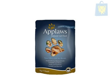 APPLAWS - TUNA FILET WITH BESUGO (70g)