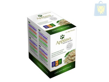 APPLAWS - CHICKEN MULTIPACK (3 flavors) (12x70g)