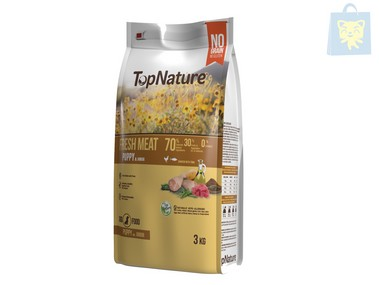 TOPNATURE - PUPPY & JUNIOR CHICKEN WITH TUNA (3Kg)