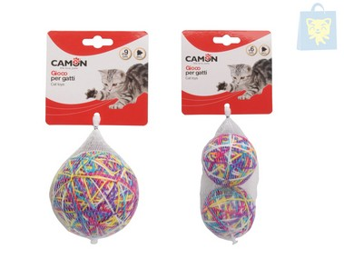 CAMON - BALL OF WOOL TOY (Various sizes)