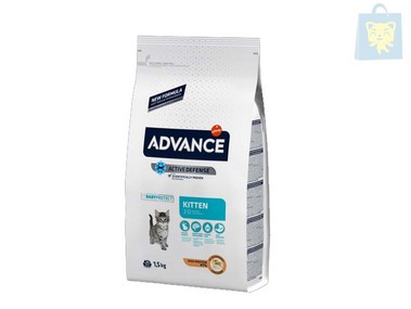 AFFINITY-ADVANCE - KITTEN POLLO Y ARROZ (0,4Kg,1,5Kg y 15Kg)