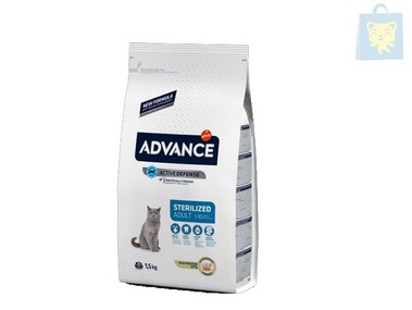 AFFINITY-ADVANCE - GATO ADULTO SENSIBLE PATO Y ARROZ (1,5Kg)