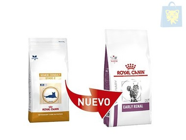 ROYAL CANIN-VETERINARY DIET - GATO SENIOR CONSULT STAGE 2 (1,5Kg, 3,5Kg y 6Kg)