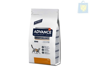 AFFINITY - ADVANCE VETERINARY DIETS - GATO OBESITY (1,5Kg y 8Kg)