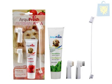 ARQUIZOO - SET DENTAL ARQUIFRESH (Fresa y Menta)